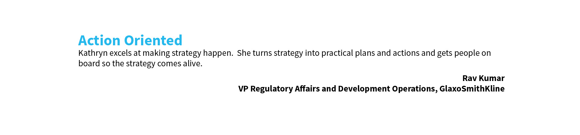 Kathryn Simpson Consulting Limited - Client Testimonial 4