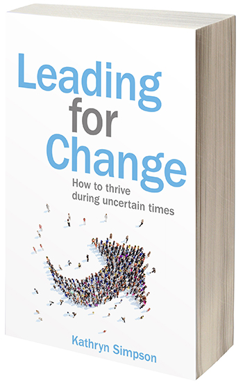 Kathryn Simpson :: Leading for Change book